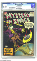 """Silver Age (1956-1969):Science Fiction, Mystery in Space #48 (DC, 1958) CGC FN 6.0 Cream to off-white pages. """"Silver"""" logo (actually, it's a faint blue) against the..."""