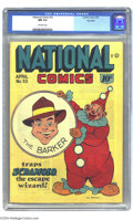 Golden Age (1938-1955):Superhero, National Comics #53 Big Apple pedigree (Quality, 1946) CGC NM 9.4 Off-white pages. No publisher offered more consistently st...
