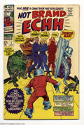 Silver Age (1956-1969):Humor, Not Brand Echh #1 (Marvel, 1967) Condition: FN/VF. Satire. Jack Kirby cover and art. Overstreet 2004 FN 6.0 value = $18; VF ...
