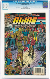 G. I. Joe, A Real American Hero #155 (Marvel, 1994) CGC VF 8.0 White pages