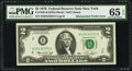 Mismatched Prefix Letters Error Fr. 1935-B $2 1976 Federal Reserve Note. PMG Gem Uncirculated 65 EPQ