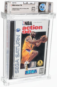 NBA Action '98 - Wata 9.6 A++ Sealed, Saturn Sega 1997 USA