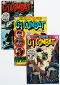Bronze Age (1970-1979):War, G.I. Combat - Murphy Anderson Pedigree Group of 32 (DC, 1970-78) Condition: Average FN/VF.... (Total: 32 Comic Books)