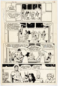 Original Comic Art, George Perez and John Beatty Justice League of America #192 Story Page 2 Original Art (DC, 1981)....