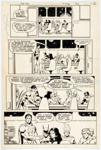 George Perez and John Beatty Justice League of America #192 Story Page 2 Original Art (DC, 1981)