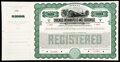 Chicago, Indianapolis and Louisville Railway Co. Gold Bond Certificate Specimen $1,000 19__ Remainder Very Fine