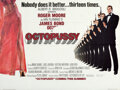 "Movie Posters:James Bond, Octopussy (MGM/UA, 1983). Folded, Very Fine. British Quad (30"" X 40"") Advance, Dan Goozee Artwork.. ..."