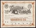 Fifteen Assorted Issued and Unissued Stock Certificates from the State of Pennsylvania Very Fine or Better. ... (Total:...