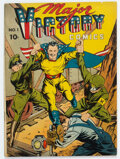 Golden Age (1938-1955):Superhero, Major Victory Comics #1 (Harry 'A' Chesler, 1944) Condition: Apparent FN....