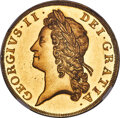 Great Britain, Great Britain: George II gold Proof 5 Guineas 1731 PR64+ Cameo NGC,...
