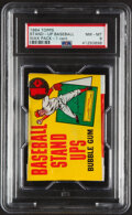 Baseball Cards:Unopened Packs/Display Boxes, 1964 Topps Baseball Stand-Up 1-Cent Unopened Wax Pack PSA NM-MT 8. ...
