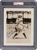 Baseball Collectibles:Photos, Circa 1940 Babe Ruth Signed Photograph, PSA/DNA Gem Mint 10....