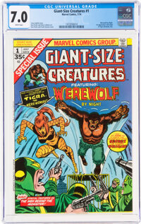 Giant-Size Creatures #1 (Marvel, 1974) CGC FN/VF 7.0 White pages