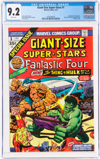 Giant-Size Super-Stars #1 (Marvel, 1974) CGC NM- 9.2 White pages