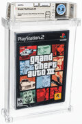 "Video Games:Playstation, Grand Theft Auto III - Wata 9.8 A++ Sealed [""Trilogy"" Release, Later Production], PS2 Rockstar 2001 USA...."