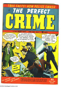 Perfect Crime #2 (Cross Publications, 1950) Condition: FN+. Overstreet 2004 FN 6.0 value = $57; VF 8.0 value = $106