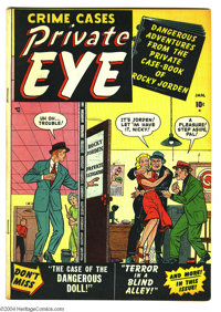 Private Eye #1 (Atlas, 1951) Condition: FN+. Overstreet 2004 FN 6.0 value = $66