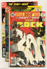 Sgt. Rock Group (DC, 1977) Condition: Average VF+. This group includes Our Army at War # 300 (GD) and 301 (GD) as well a...