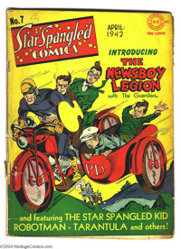 Star Spangled Comics #7 (DC, 1942) Condition: GD. No Simon and Kirby collection is complete without this key, the first...