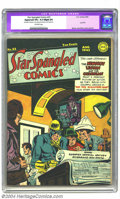 Golden Age (1938-1955):Superhero, All Select Comics #8 (Timely, 1945) CGC NM 9.4 White pages. A Near Mint All Select with white pages is certainly the cre...
