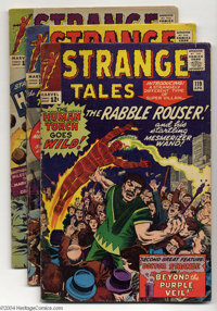 Strange Tales #119-124 Group (Marvel, 1964) Condition: Average VG+. Featuring the Human Torch and Doctor Strange. This l...