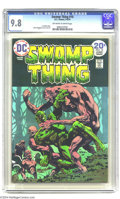 Bronze Age (1970-1979):Horror, Swamp Thing #10 (DC, 1974) CGC NM/MT 9.8 Off-white to white pages. Bernie Wrightson cover and art. Last Wrightson issue. Thi...