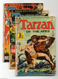 Tarzan Group (DC, 1972-74) Condition: Average VG-. This group includes #207-210, 212-215, 218, 220, 221, and 227, as wel...