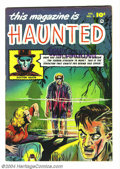 Golden Age (1938-1955):Horror, This Magazine Is Haunted #2 (Fawcett, 1951) Condition: FN/VF.George Evans art. Overstreet 2004 FN 6.0 value = $132; VF 8.0 ...