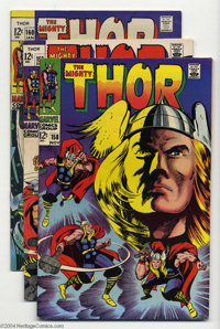 Thor #158-160 Group (Marvel, 1968-69) Condition: Average FN/VF. This lot consists of issues #158, 159, and 160. Overstre...