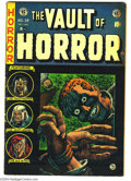 Golden Age (1938-1955):Horror, Vault of Horror #34 (EC, 1954) Condition: VG. Johnny Craig cover.Jack Davis, Reed Crandall, and Graham Ingels art. Overstre...