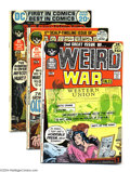 Bronze Age (1970-1979):War, Weird War Tales Group (DC, 1971-72) Condition: Average FN. This group consists of four comics: #2, 4, 6. Issue #9 is in VG c... (Total: 4 Comic Books Item)