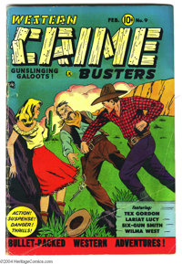 Western Crime Busters #9 (Trojan Publishing, 1952) Condition: VG+. Wally Wood art. Overstreet 2004 VG 4.0 value = $68...