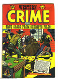 Golden Age (1938-1955):Western, Western Crime Cases #9 (Trojan Magazines, 1951) Condition: FN-. This is the only issue of the title. L. B. Cole cover. Overs...