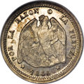 Chile, Chile: Republic Medio Decimo 1865,...