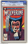Modern Age (1980-Present):Superhero, Wolverine (limited series) #1 (Marvel, 1982) CGC NM+ 9.6 White pages. First solo Wolverine comic. Frank Miller cover and art...