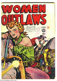 Women Outlaws #4 (Fox Features Syndicate, 1949) Condition: VG. Overstreet 2004 VG 4.0 value = $94