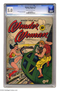 Golden Age (1938-1955):Superhero, Wonder Woman #11 (DC, 1944) CGC VG/FN 5.0 Cream to off-white pages. H. G. Peter art. Overstreet 2004 VG 4.0 value = $216; FN...