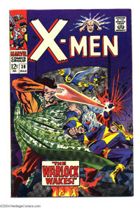 X-Men #30 (Marvel, 1967) Condition: VF+. Jack Kirby and John Tartaglione cover art. Jack Sparling interior art. Overstre...