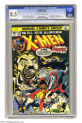Bronze Age (1970-1979):Superhero, X-Men #94 (Marvel, 1975) CGC VF+ 8.5 Off-white to white pages. New X-Men begin. Sunfire leaves. Art by Dave Cockrum, Bob McL...