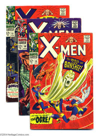 X-Men Group (Marvel, 1967) Condition: Average VG+. This group consists of four comics: #28 (first appearance of the Bans...