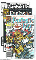Modern Age (1980-Present):Superhero, Fantastic Four #274-416 Group (Marvel, 1985-96) Condition: AverageNM-. This group begins in the John Byrne era an extends t...(Total: 150 Comic Books Item)