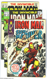 Iron Man #40-250 Group plus (Marvel, 1971-89). This is one long box full of 219 Iron Man comics. The run includes #40-25...