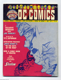 Amazing World of DC Comics #1 (DC, 1974) Condition: VG/FN. Carmine Infantino cover. Articles include features on Bill Fi...