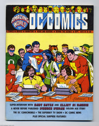 Amazing World of DC Comics #2 (DC, 1974) Condition: FN+. Kurt Schaffenberger cover. Artists include H. G. Peter (a previ...