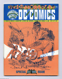 Amazing World of DC Comics #4 (DC, 1975) Condition: FN. Batman issue. Jerry Robinson cover. Dick Sprang and Al Plastino...
