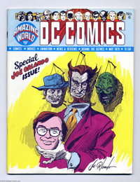 Amazing World of DC Comics #6 (DC, 1975) Condition: FN/VF. Joe Orlando cover. Feature on Orlando by Paul Levitz, plus a...