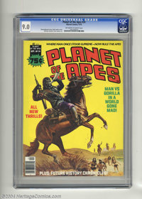 Planet of the Apes (Magazine) #24 (Marvel, 1976) CGC VF/NM 9.0 Off-white to white pages. Issue had low distribution acco...