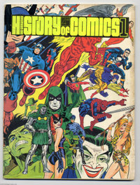 The Steranko History of Comics Volume 1 and 2 Group (Supergraphics, 1970-72) Condition: VG. Treasury-sized, with cover i...