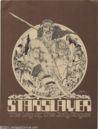 Mike Grell - Starslayer The Log of the Jolly Roger Portfolio #565/1200 (Schanes and Schanes, 1981). Mike Grell is perhap...