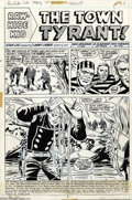 Original Comic Art:Panel Pages, Larry Lieber and George Roussos - Original Art for Rawhide Kid #103, Group of 9 pages (Marvel, 1972). Pages written and penc... (Total: 9 Original Art Item)